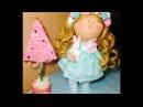 Волосы для куклы Клеим трессы