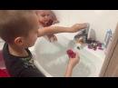 Стас и Ники купают Стикизы и Hot Wheels