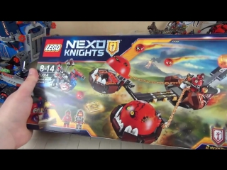 Лего Нексо Рыцари - NEXO Knights 70314 - БЕЗУМНАЯ КОЛЕСНИЦА УКРОТИТЕЛЯ - Нексо Найтс