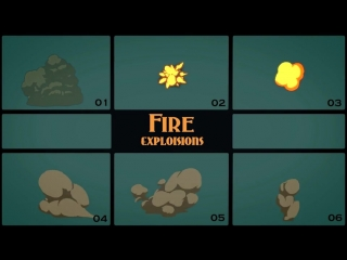 VIDEOHIVE ELEMENTAL 2D FX PACK MOTION GRAPHICS