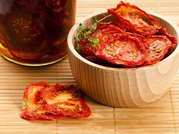 Сушенные помидоры: рецепты и концепты