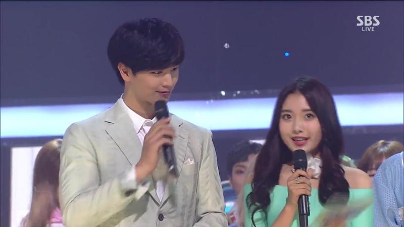 《Inkigayo WIN》 인기가요 1위 발표 TWICE(트와이스) - CHEER UP 20160522