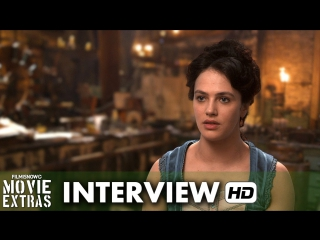 Victor Frankenstein (2015) Behind the Scenes Movie Interview - Jessica Brown Findlay is 'Lorelei'