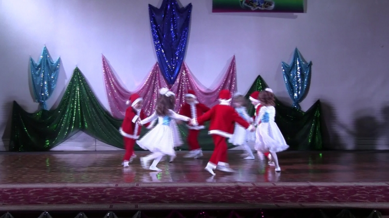 дс Рябинушка Новогодний переполох