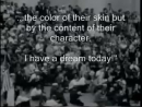 "Martin Luther King ""I have a dream"" with Subtitles"