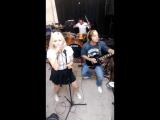 'Hollywood' (live) на репетиции MyRockBand