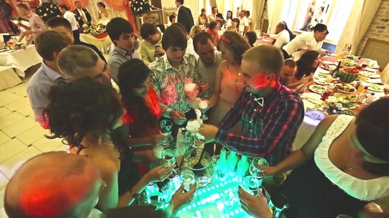 Бармен шоу, горка шампанского, выездной коктейль бар, выездные кальяны Александр Илларионов город Киров 8-919-504-77-43