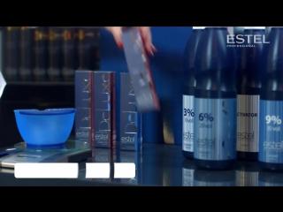Estel De Luxe Краска Инструкция по окрашиванию