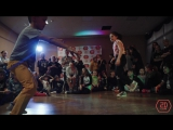 2D CLUB 7. Hip-Hop Juniors. 1/4 - Щерба Пётр (win) - Абгарян Мелине