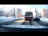 ДТП на перекрестке ул. Майская и Пушкинская Ижевск.
