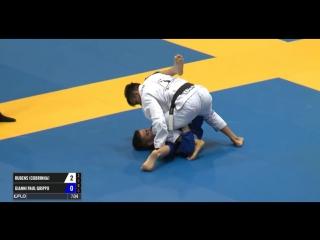 Rubens Cobrinha Charles - Gianni Grippo Europeans 2017 Finals