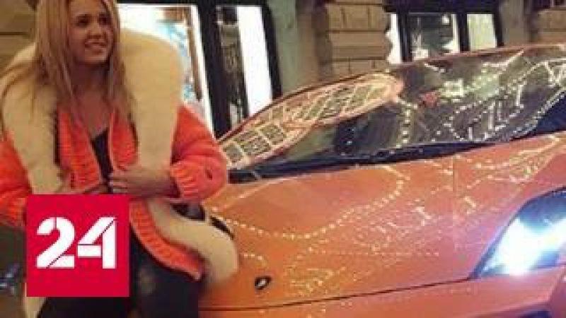 Полиция проверяет видеоролик с подвигами Lamborghini на Кутузовском проспекте