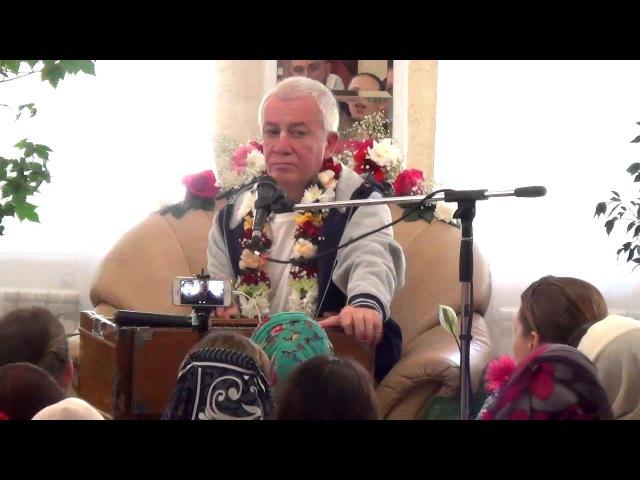 Чайтанья Чандра Чаран Дас - Важная лекция (1 июня 2017, Гуру-крипа, Омск)