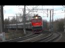 Электровоз ЧС7-038 с поездом № 024 Одесса - Москва