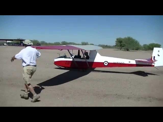 Slingsby T.31B Cadet Mk 3. First day's flying at El Tiro, Arizona.
