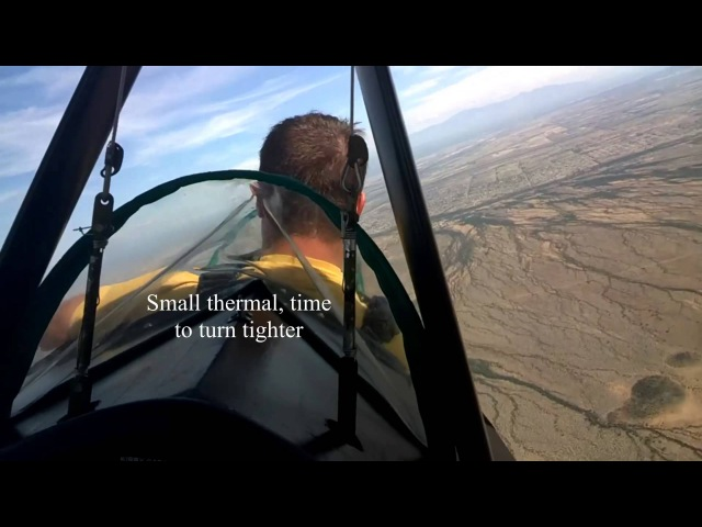 Bob P. flies with Woody in the Slingsby T.31