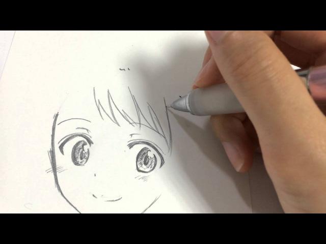 初描き ニセコイの小野寺さんを描いてみた!(※等倍速)【kekkaishilove】