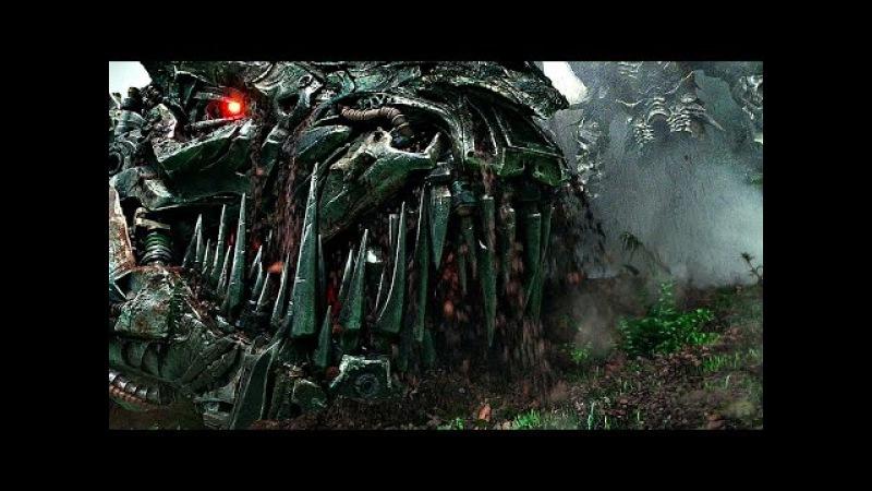 Оптимус Прайм против Гримлока (Динобот). Трансформеры: Эпоха истребления.