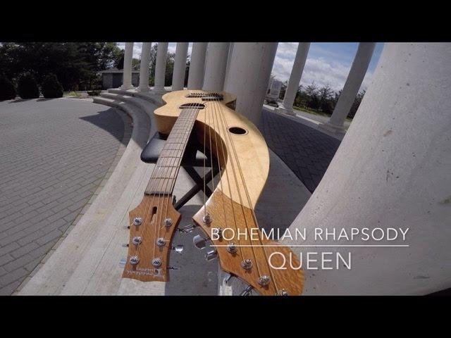 Bohemian Rhapsody - Queen - Harp Guitar Cover - Jamie Dupuis