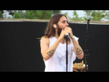 30 Seconds to Mars - Northern Lights, Church of Mars in St.Tropez, France July 24th 2014