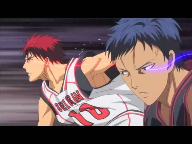 Клип из аниме Баскетбол Куроко Kuroko no Basuke AMV