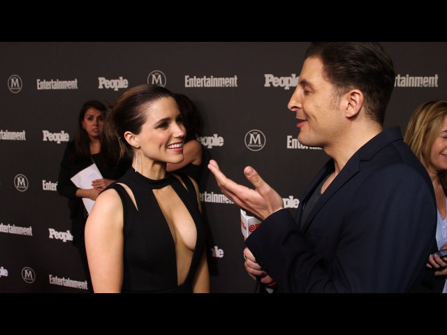 Sophia Bush at the EW and People Upfront with Arthur Kade
