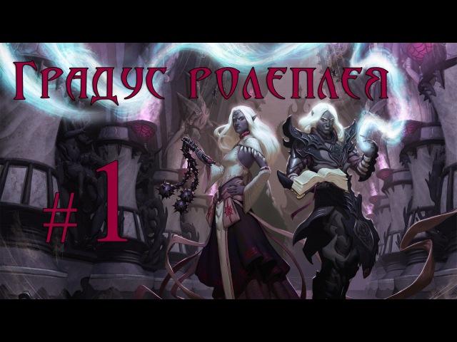 Ролеплей в Neverwinter Nights Shadows of Undrentide Жрица Ллос Градус ролеплея 1