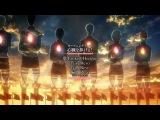 60fps Attack on Titan ~ Shingeki no Kyojin Season 2 Opening OP - Shinzou wo Sasageyo
