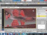 3dmax Editable Poly Bridge соединение полигонов геометрией