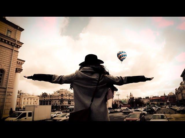 Алена летает на шаре