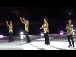 Плющенко, Жубер, Амодио и Ригини в Ice Show