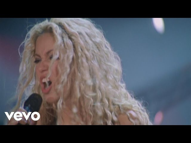 Shakira Objection Tango from Live Off the Record