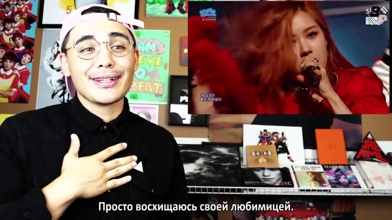 [JBP] BLACKPINK - WHISTLE BOOMBAYAH Inkigayo Performance Reaction [рус.саб]