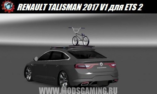 Euro truck simulator 2 download mod car RENAULT TALISMAN V1 2017