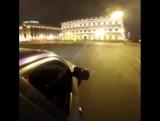 Дрифт по По Исаакиевской площади в Санкт-Петербурге