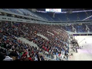 Волна (Цунами) зрителей на Зенит Арена! Первые 10 000 человек