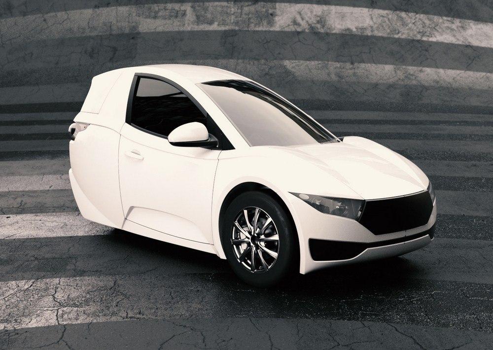 Electra Meccanica представила серийную версию трехколесного одноместного электромобиля Solo