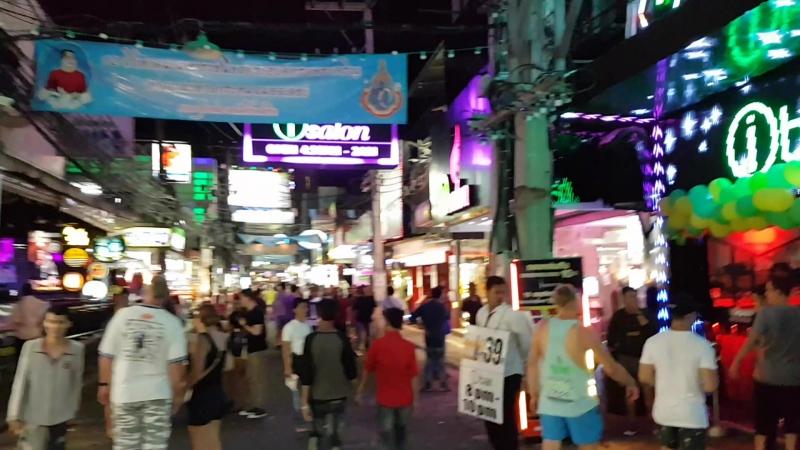 Улица Волкин Стрит Паттайя Таиланд