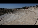 Сyprus Kourion Κούριον Курион The ancient Theatre Я бегу