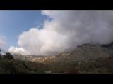 Приблежение шторма. Лучистое. Алушта. Крым