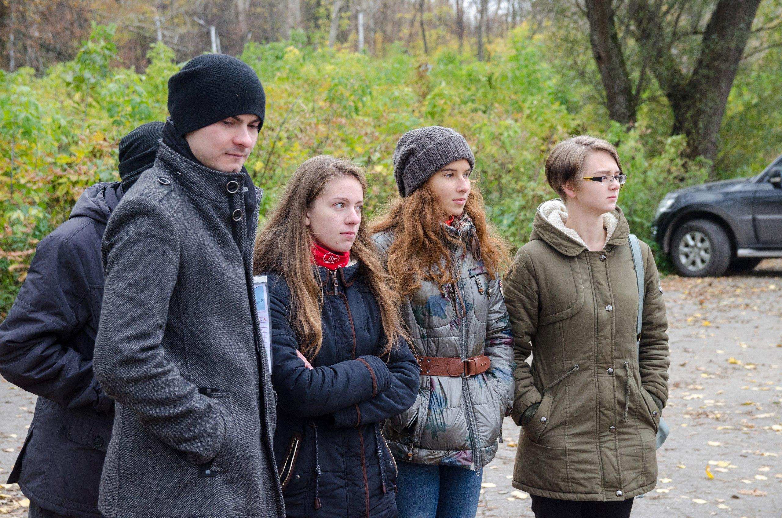 Комсомольцы приняли участие в общегородском субботнике