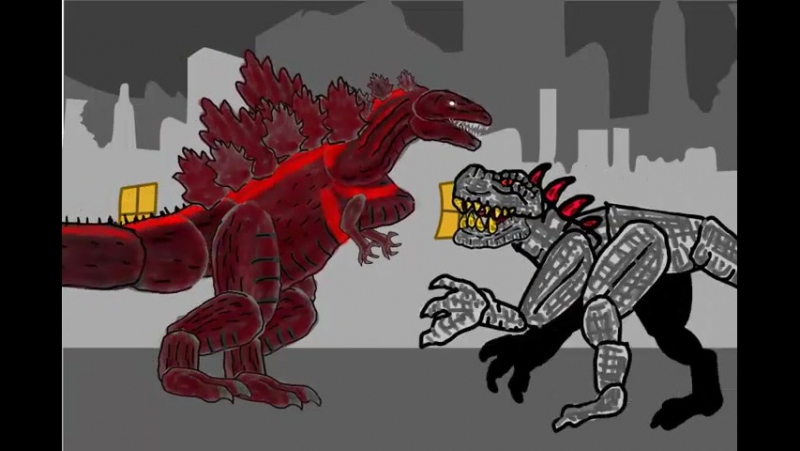 Shin Godzilla vs Gigantis