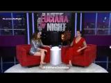 #VIDEO Entrevista de @DulceMaria en el programa @LucianaByNight