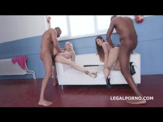 May Thai, Lola Shine, Monika Wild group anal sex porno