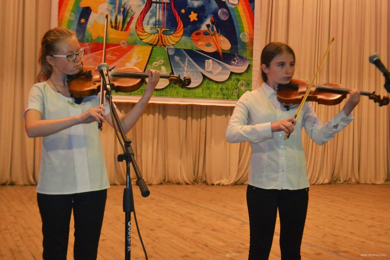 Отчётный концерт ДШИ «Лира» состоялся в станице Зеленчукской
