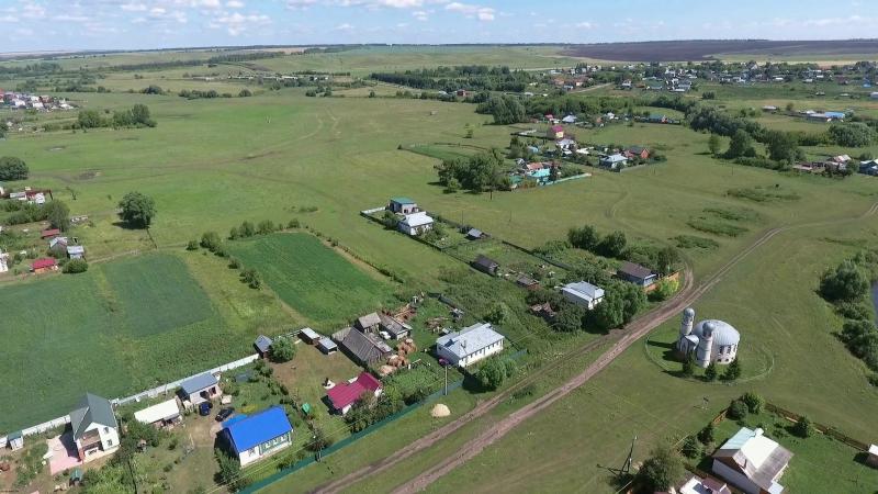 Мочалей (старый) 15 июля 2016 с высоты (Пильнинский р-он).