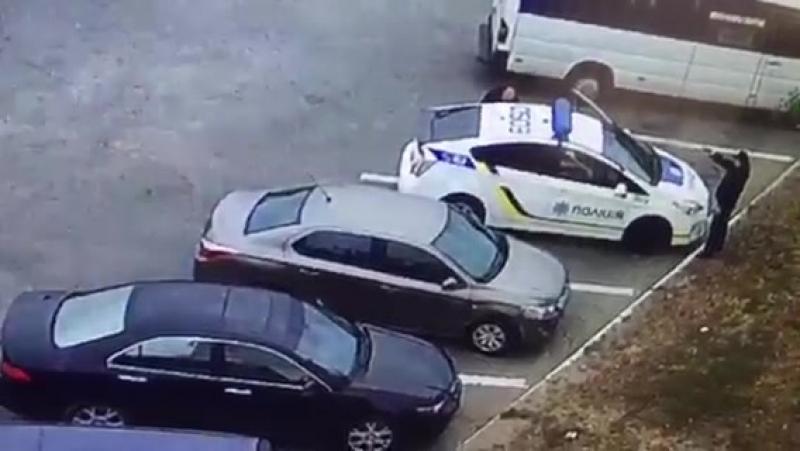 Убийство полицейского в Днепре