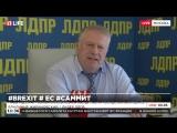 Владимир Жириновский о выходе Великобритании из Евросоюза. Через 5 лет ЕС исчезнет