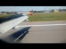 Посадка в Ростове - на - Дону. Airbus a 320 Aeroflot.