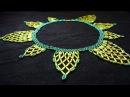 Колье из бисера и стекляруса!how to make a beaded necklace?